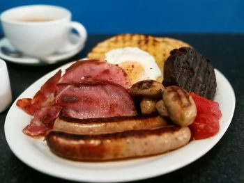 What The Fork's delicious full English Breakfast